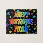 "[ Thumbnail: ""Juan"" First Name, Fun ""Happy Birthday"" Jigsaw Puzzle ]"