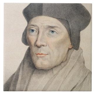 Juan Fisher, obispo de 1469-1535) engra de Rochest Azulejo Cuadrado Grande