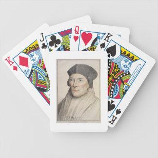 Juan Fisher, obispo de 1469-1535) engra de Rochest Baraja De Cartas