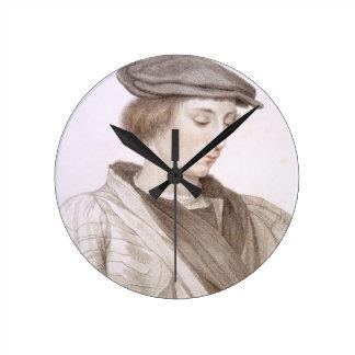 Juan grabado más por Francesco Bartolozzi (1727-1 Reloj Redondo Mediano
