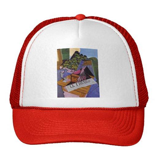 Juan Gris- A Pot of Geraniums Trucker Hats