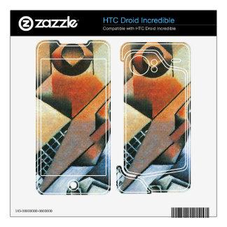 Juan Gris - Banjo (guitar) and glasses HTC Droid Incredible Skin