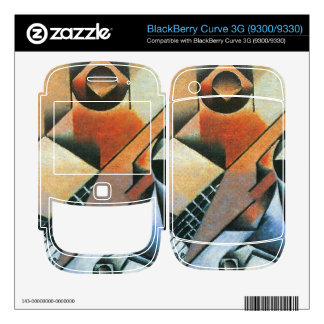 Juan Gris - Banjo (guitar) and glasses Skin For BlackBerry