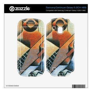 Juan Gris - Banjo (guitar) and glasses Samsung Continuum Decal