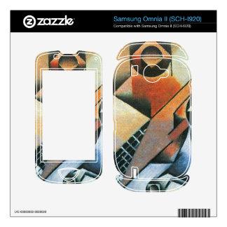 Juan Gris - Banjo (guitar) and glasses Samsung Omnia II Decal