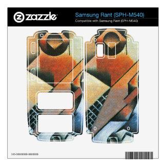 Juan Gris - Banjo (guitar) and glasses Skin For Samsung Rant