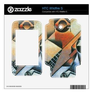 Juan Gris - Banjo (guitar) and glasses HTC Wildfire S Skin