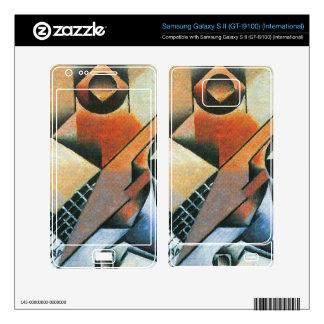 Juan Gris - Banjo (guitar) and glasses Samsung Galaxy S II Skin