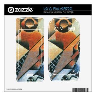 Juan Gris - Banjo (guitar) and glasses Skin For LG Vu Plus