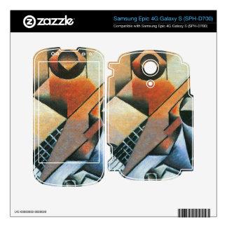 Juan Gris - Banjo (guitar) and glasses Samsung Epic Decals