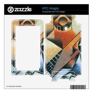 Juan Gris - Banjo (guitar) and glasses HTC Imagio Skin