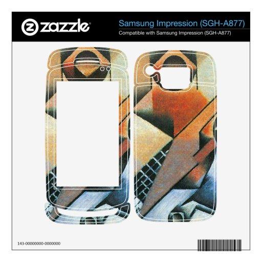 Juan Gris - Banjo (guitar) and glasses Samsung Impression Decals