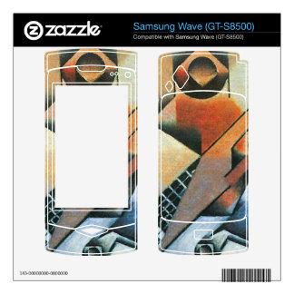 Juan Gris - Banjo (guitar) and glasses Samsung Wave Decals