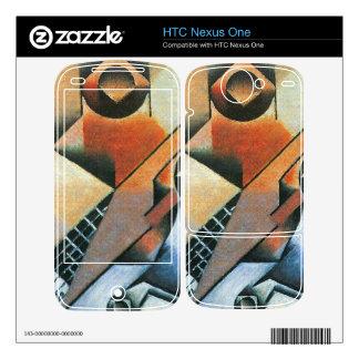 Juan Gris - Banjo (guitar) and glasses Decal For HTC Nexus One