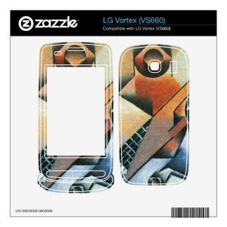 Juan Gris - Banjo (guitar) and glasses Decals For LG Vortex