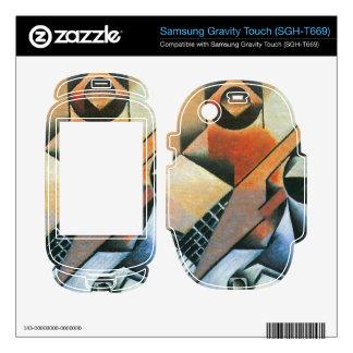 Juan Gris - Banjo (guitar) and glasses Samsung Gravity Touch Skin