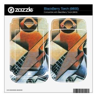 Juan Gris - Banjo (guitar) and glasses Skin For BlackBerry Torch