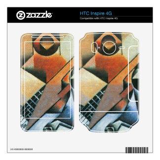Juan Gris - Banjo (guitar) and glasses Skin For HTC Inspire 4G