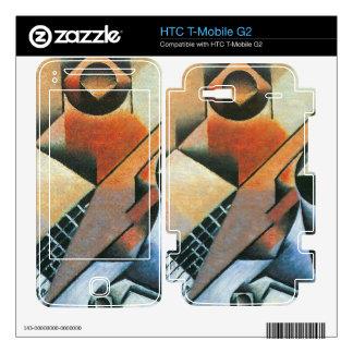 Juan Gris - Banjo (guitar) and glasses HTC T-Mobile G2 Skins