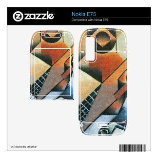 Juan Gris - Banjo (guitar) and glasses Nokia E75 Decals