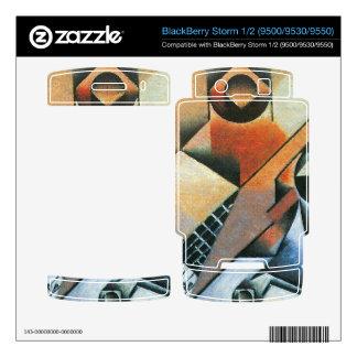 Juan Gris - Banjo (guitar) and glasses BlackBerry Skin