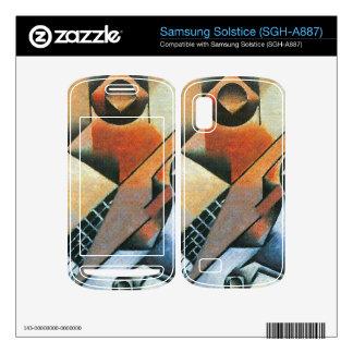 Juan Gris - Banjo (guitar) and glasses Samsung Solstice Decal