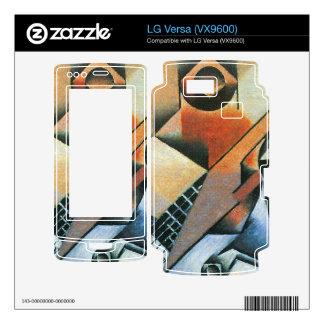 Juan Gris - Banjo (guitar) and glasses Skin For The LG Versa