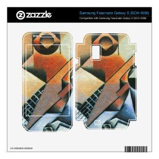 Juan Gris - Banjo (guitar) and glasses Samsung Fascinate Skins