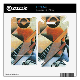 Juan Gris - Banjo (guitar) and glasses Skins For HTC Aria