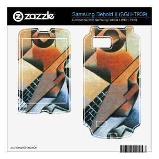 Juan Gris - Banjo (guitar) and glasses Samsung Behold II Decals