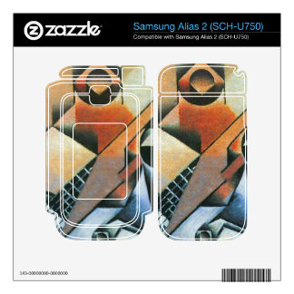 Juan Gris - Banjo (guitar) and glasses Decal For Samsung Alias 2