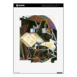 Juan Gris - Book pipe and glasses iPad 3 Skin