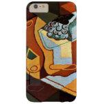Juan Gris - botella, copa de vino y fruta Funda Barely There iPhone 6 Plus