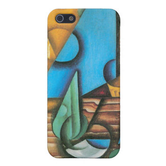 Juan Gris - Bottle and glass on a table iPhone 5 Cover