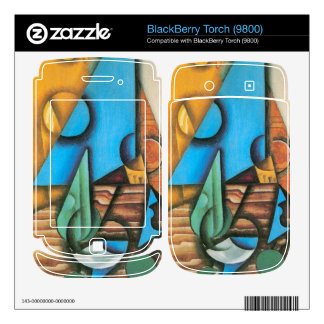 Juan Gris - Bottle and glass on a table Skin For BlackBerry Torch