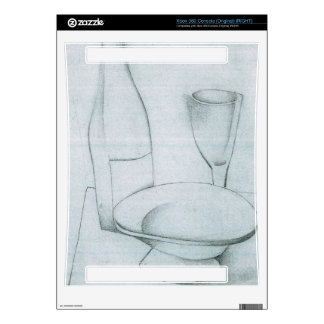 Juan Gris - Bottle glass and fruit peel Xbox 360 Console Skins