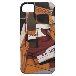 Juan Gris- Bottle, Newspaper and Fruit Bowl iPhone 5 Cover