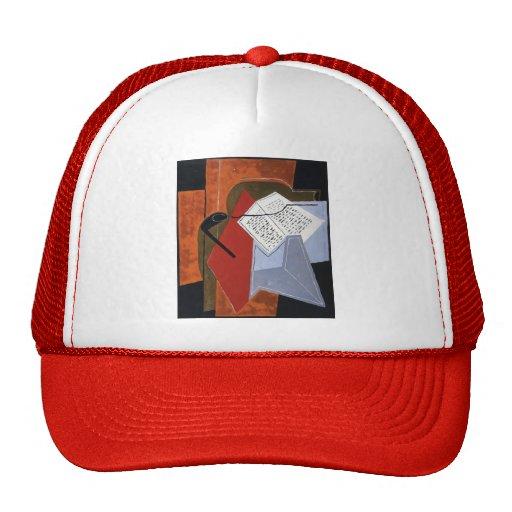 Juan Gris- Bowl and Book Hat