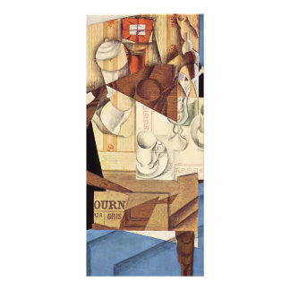 Juan Gris: Breakfast Rack Card Design