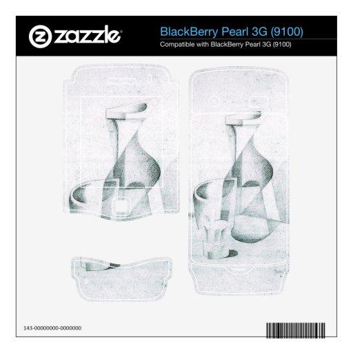 Juan Gris - Caraffe y vidrio BlackBerry Pearl Skin