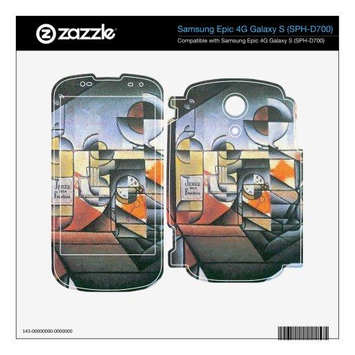 Juan Gris - Clock and bottle Jerez de la Frontera Samsung Epic Decals