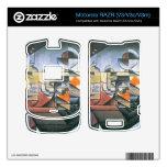 Juan Gris - Clock and bottle Jerez de la Frontera Motorola RAZR Skins