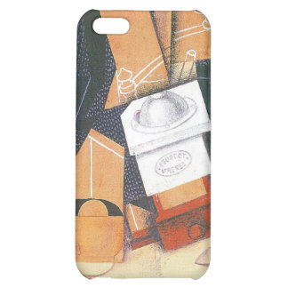 Juan Gris - Coffee grinder cup and glass on a tabl Cover For iPhone 5C
