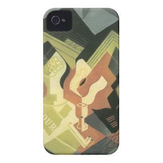 Juan Gris - cuenco de la guitarra y de fruta iPhone 4 Protectores