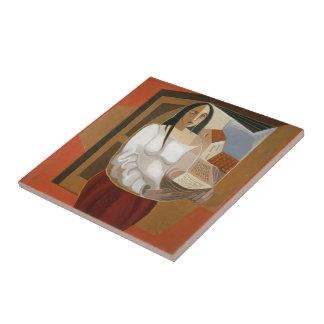 Juan Gris- el lector Tejas Ceramicas