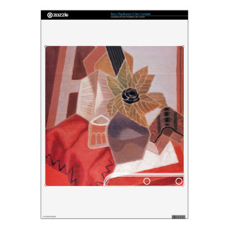 Juan Gris - Flowers on the table PS3 Slim Console Skin