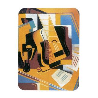 Juan Gris - fotografía de la guitarra Imán Flexible