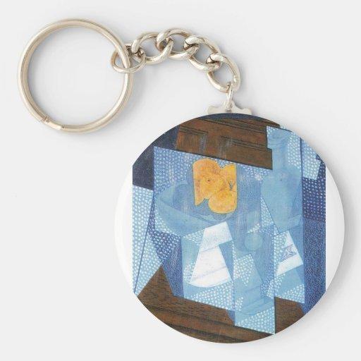 Juan Gris - Fruit bowl Key Chains