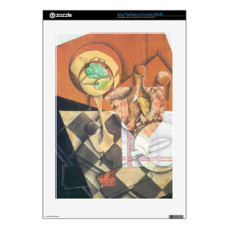 Juan Gris - Fruit peel and carafe Decal For The PS3