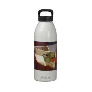 Juan Gris- Fruit with Bowl Water Bottles